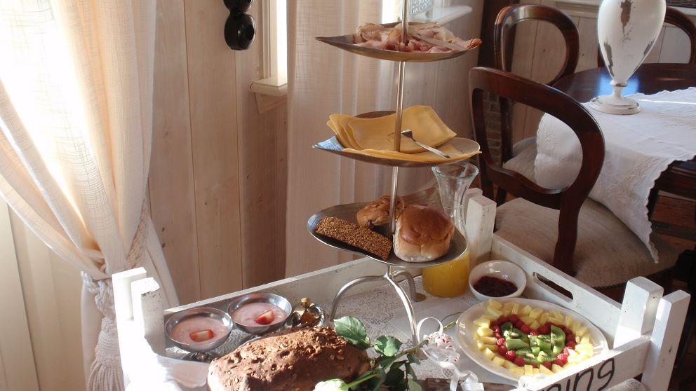 U kunt het ontbijt naar uw huisje laten komen (zie ook de arrangementen)