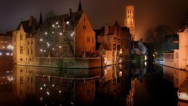 Brugge is een zeer romantische stad