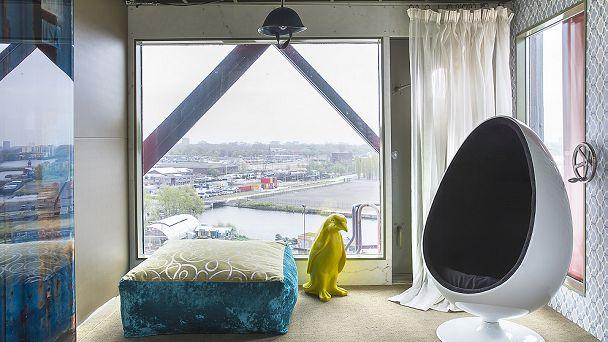 Faralda Crane Hotel Amsterdam - Free Spirit Suite