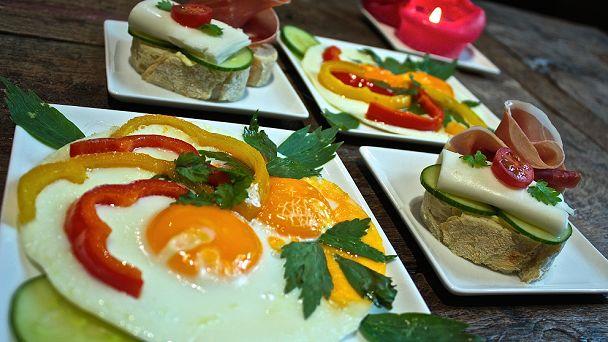Het ontbijt is een culinair feestje bij Nuit Blanche