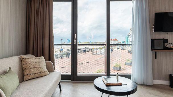 Junior Ocean Suite met frans balkon