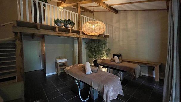 Duo-massage arrangement met 2 overnachtingen Loft 1