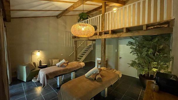 Duo-massage arrangement met 2 overnachtingen in de Suite