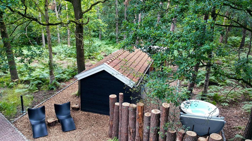 Privé Spa Parel in t groen het Boshuis