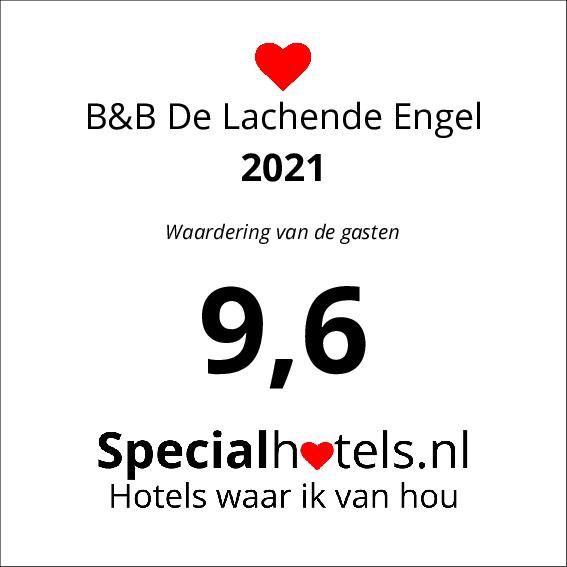 Rating B&B De Lachende Engel 9,6