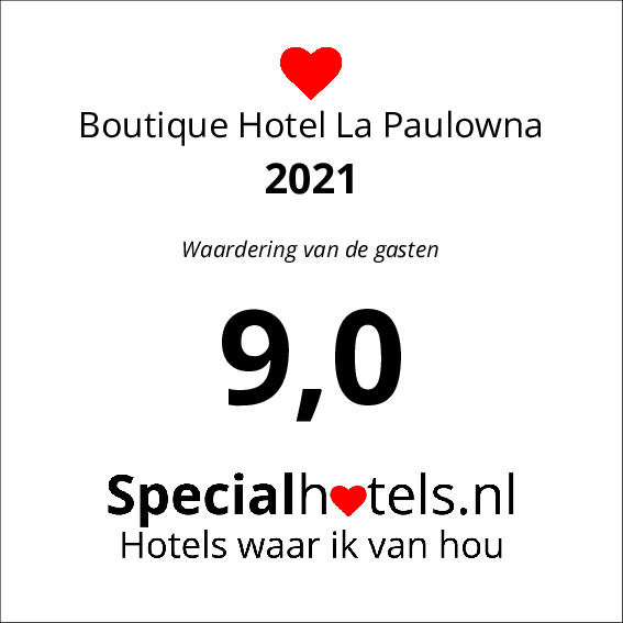Rating Boutique Hotel La Paulowna 9,3