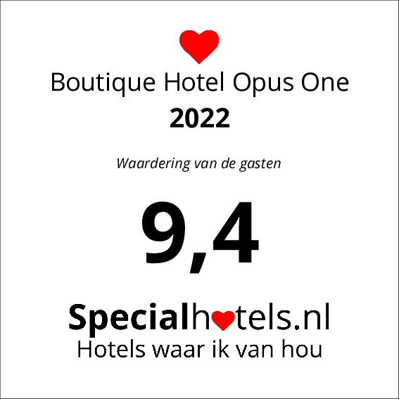 Rating Boutique Hotel Opus One 9,6
