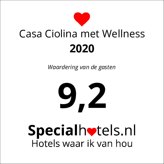 Rating Casa Ciolina met Wellness 9,3