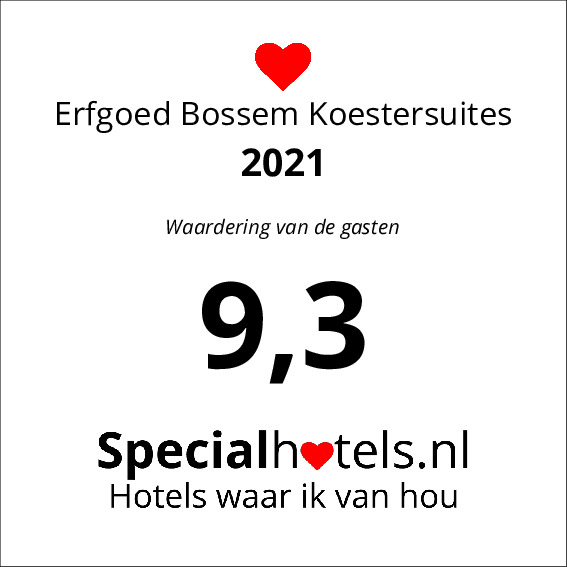 Rating Erfgoed Bossem Koestersuites 9,2