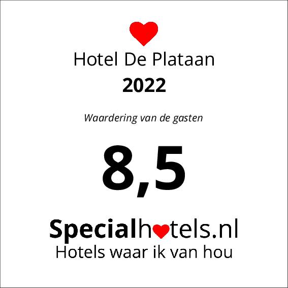 Rating Hotel De Plataan 8,6