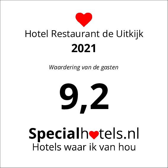 Rating Hotel Restaurant de Uitkijk 8,2