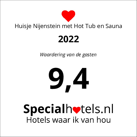 Rating Huisje Nijenstein met Hot Tub en Sauna 9,6