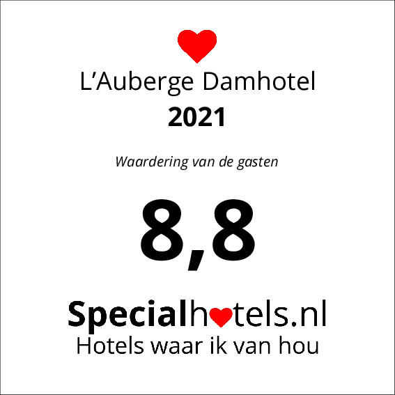 Rating L'Auberge Damhotel 8,8