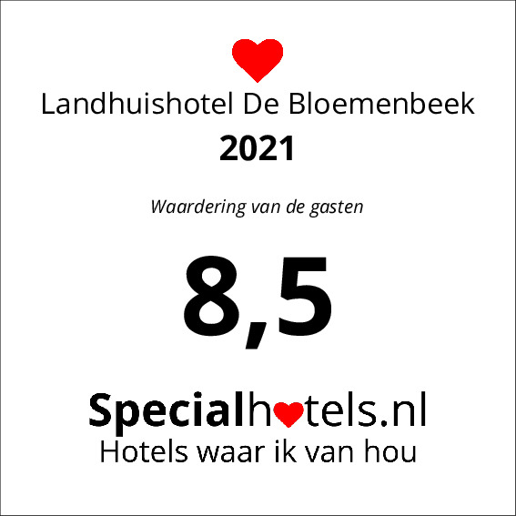 Rating Landhuishotel De Bloemenbeek 8,3