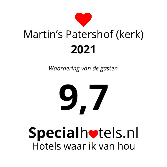 Rating Martin's Patershof (kerk) 7,5