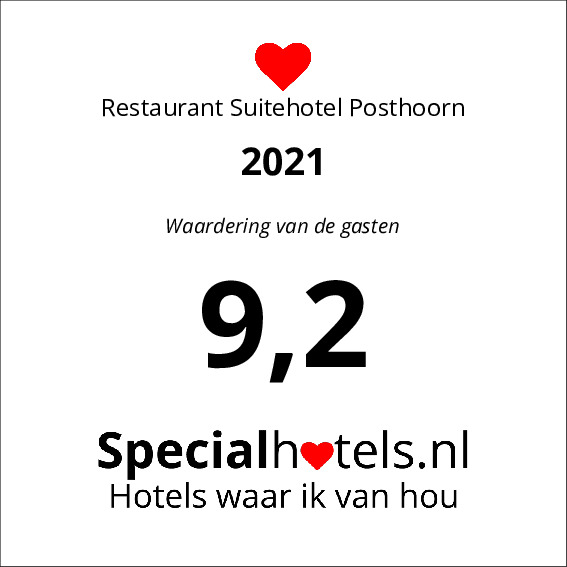 Rating Restaurant Suitehotel Posthoorn 9,1