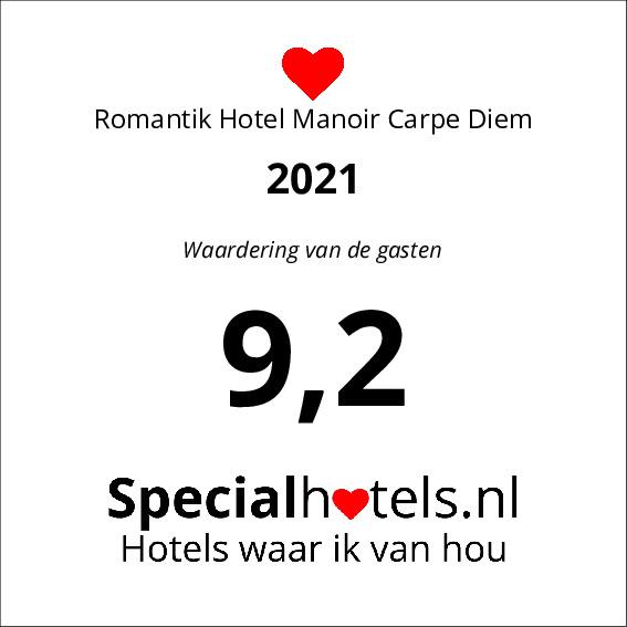 Rating Romantik Hotel Manoir Carpe Diem 9,2