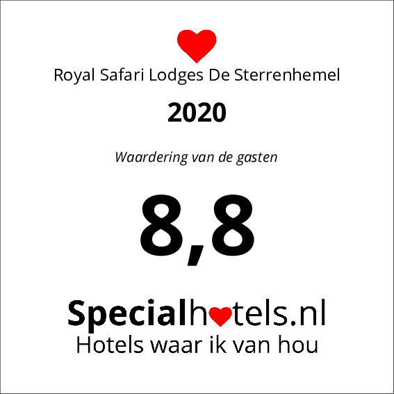 Rating Royal Safari Lodges De Sterrenhemel 8,4
