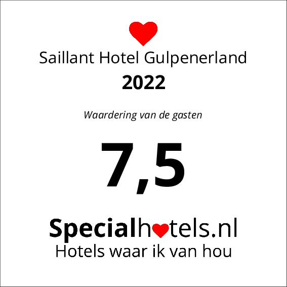 Rating Saillant Hotel Gulpenerland 8,2
