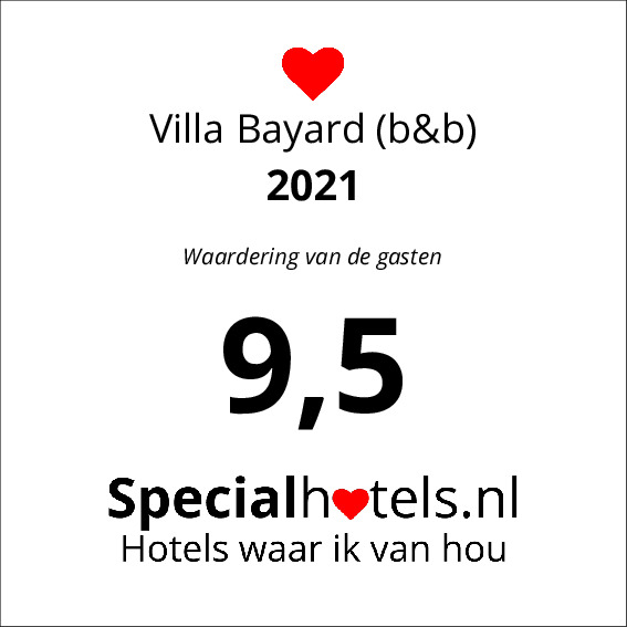 Rating Villa Bayard (b&b) 9,5