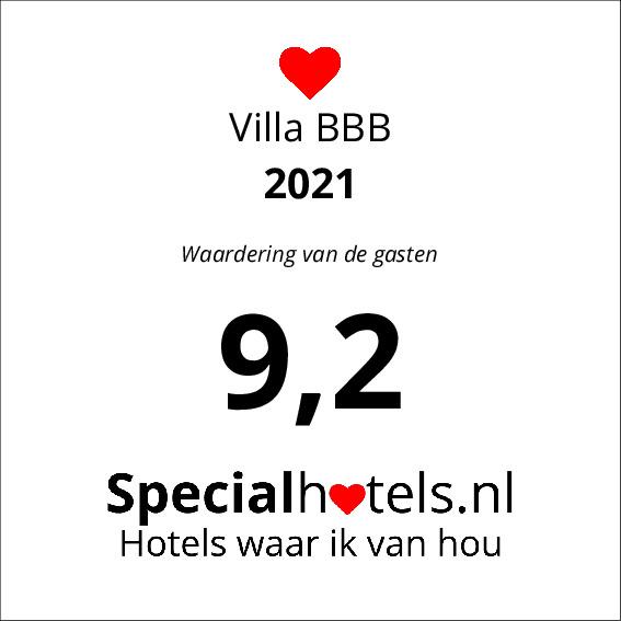 Rating Villa BBB 8,5