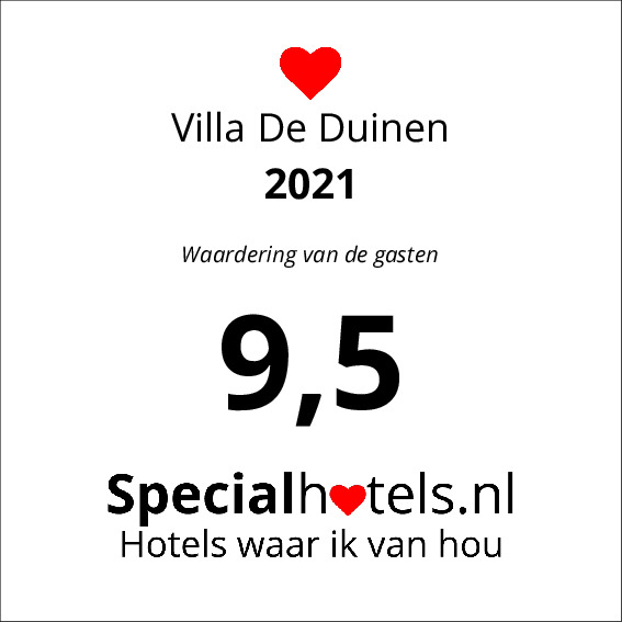 Rating Villa De Duinen 8,9