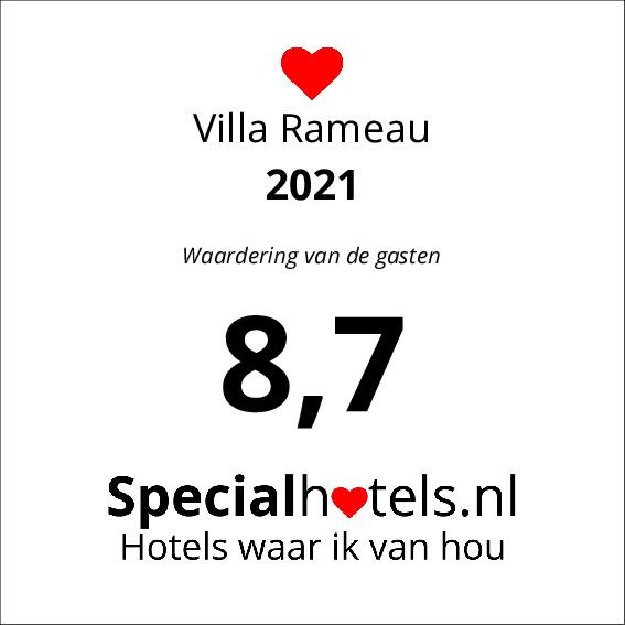 Rating Villa Rameau 8,3