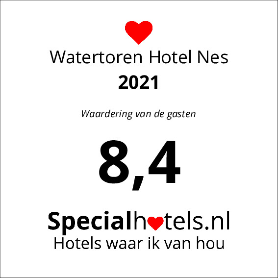 Rating Watertoren Hotel Nes 8,7