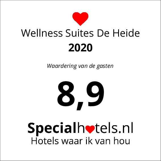 Rating Wellness Suites De Heide 9,2